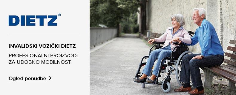 Dietz invalidski vozički