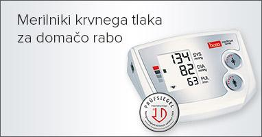 Boso merilniki krvnega tlaka za domačo rabo
